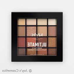 "1 NYX Ultimate Shadow Palette Eye "" USP03 - Warm Neutrals """