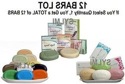 12x Bars Herbal All NATURAL SOAP Vegetarian Neem/Shea/Cocoa/
