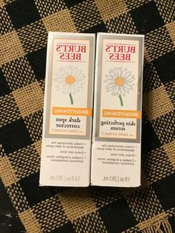2 Burt's Bees Brightening Skin Perfecting Serum/dark Spot Co