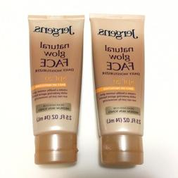 2 Jergens Natural Glow FACE Daily Moisturizer SPF 20 Medium