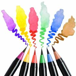 24 color skin tones markers pen graphic