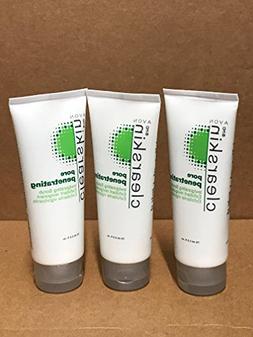 Avon Clearskin Pore Penetrating Invigorating Scrub Lot 3 Tub