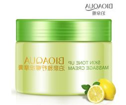 BIOAQUA Skin Tone Up Massage Cream The Lemon Face Natural Cl
