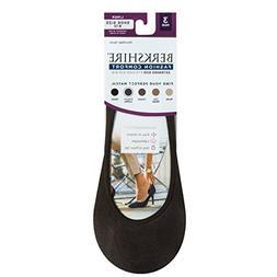 Berkshire Women's Thin & Casual No Show Skin Tone Liner Sock