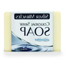 "Colloidal Silver Soap, 2 1/2"" x 31/2"" x 1"""