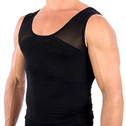 Esteem Apparel Original Men's Chest Compression Shirt to Hid