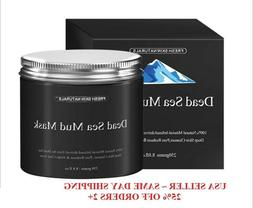 Fresh Skin Naturals Dead Sea Mud Mask Facial Cleanser, Anti-