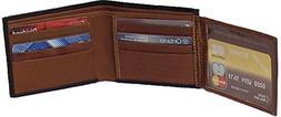 Genuine Lambskin Leather Men's Two Tone Wallet # 4103DC US
