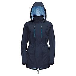 Jack Wolfskin Women's Tairona Parka Jackets, Midnight Blue,