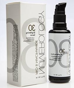 Niacinamide Serum with Vitamin C+Hyaluronic Acid+Peptides+An