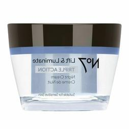 No7 Lift & Luminate Triple Action Night Cream - 1.69ozNo7 Li