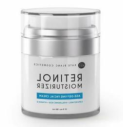 Retinol Cream Moisturizer for Face, Eye Area & Oily Skin  by