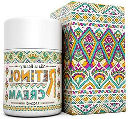 Retinol Cream Moisturizer for Face & Eyes - Anti Aging, Wrin