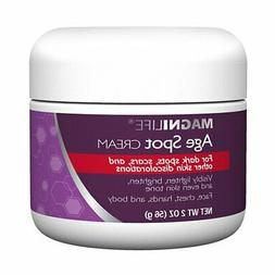 Age Spot Cream by Magnilife   Natural Botanical Formula for