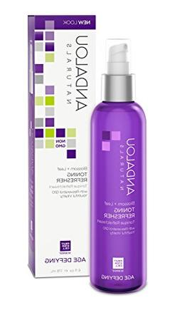 Andalou Naturals Blossom and Leaf Toning Refresher, 6 Ounce