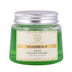 Khadi Natural Ayurvedic Herbal Aloevera Green Gel With Liqor
