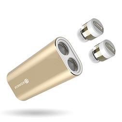 Rowkin Bit Charge Stereo: True Wireless Earbuds w/Charging C
