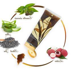 Black Tea Perfecting Facial Gel Mask, Evens Skin Tone, Reduc