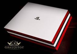 SopiGuard Carbon Fiber Two Tone Skin Full Body for Sony PS4