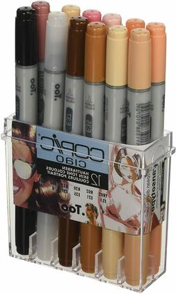 Copic Ciao Markers Skin Tones Set of 12 Art Marker BRAND NEW