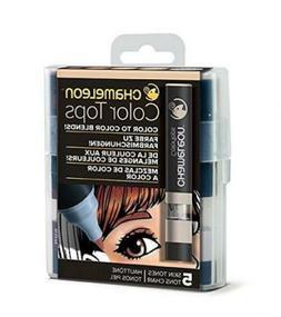 Chameleon Art Products Color Tops, Skin Tones 5-Pen Set