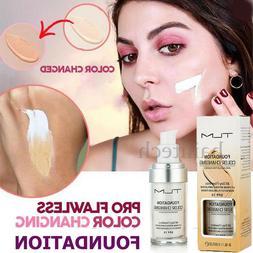 Colour Changing Skin Tone Foundation Makeup Base Face Moistu