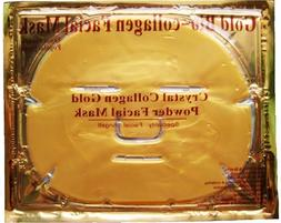 New Crystal 24K Gold Powder Gel Collagen Face Mask Masks She