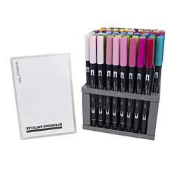 dual brush pen markers