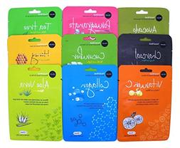 Celavi Essence Facial Face Mask Paper Sheet Korea Skin Care