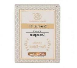 Khadi Essential Oil Lemongrass - Pure Essential Oil 15ml For