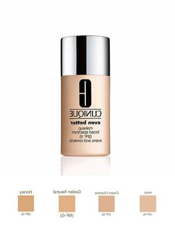 Clinique Even Better Makeup Broad Spectrum SPF 15 Evens Skin