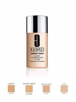 Clinique Even Better Makeup Broad Spectrum SPF 15 Evens Skin