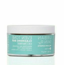 URBAN SKIN Rx Even Tone Cleansing Bar 3-in-1 Treatment 3.7 o