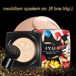 Face Makeup Mushroom Air Cushion CC Cream Nude Concealer Oil