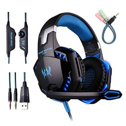 VJJB Gaming Headset ,Computer Stereo Gaming Headphone For PS