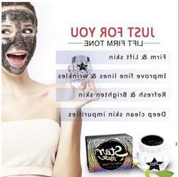Glitter Star Mask Facial Face Peel Off Blackhead FIRM LIFT T
