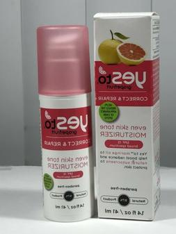 Yes to Grapefruit Even Skin Tone Moisturizer SPF 15, 1.4 Flu