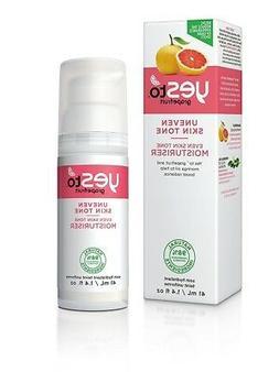 Yes To Grapefruit Uneven Skin Tone  Moisturizer, 1.4 Oz + Ey