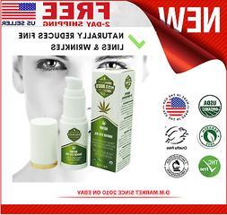 Hemp Eye Oil Reduce Fine Wrinkle Lines, Tone, Smooth and Dee