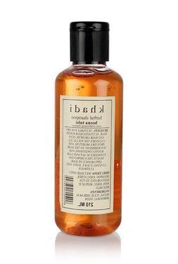 Khadi Natural Herbal Ayurvedic Henna Tulsi Conditioning Sham
