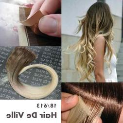 "40 Pieces 20"" Inches Balyage Ombre Two Tone Tape in Skin Wef"