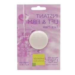 Instant Lift & Firm Face Mask, Marula Oil & Purple Clay 0.28