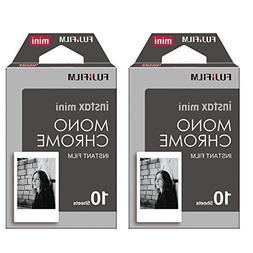 Fujifilm Instax Monchrome Instant Film 2 Pack For Mini 8 Cam