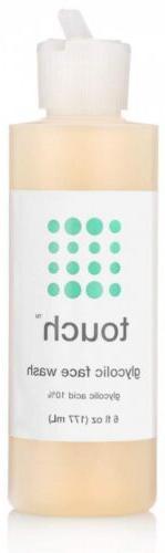 10% Glycolic Acid Face Wash - Exfoliating, Non Drying & Foam