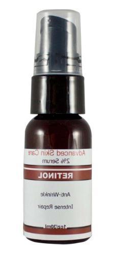 2% Retinol Serum with Hyaluronic Acid, Vitamin E and Green T