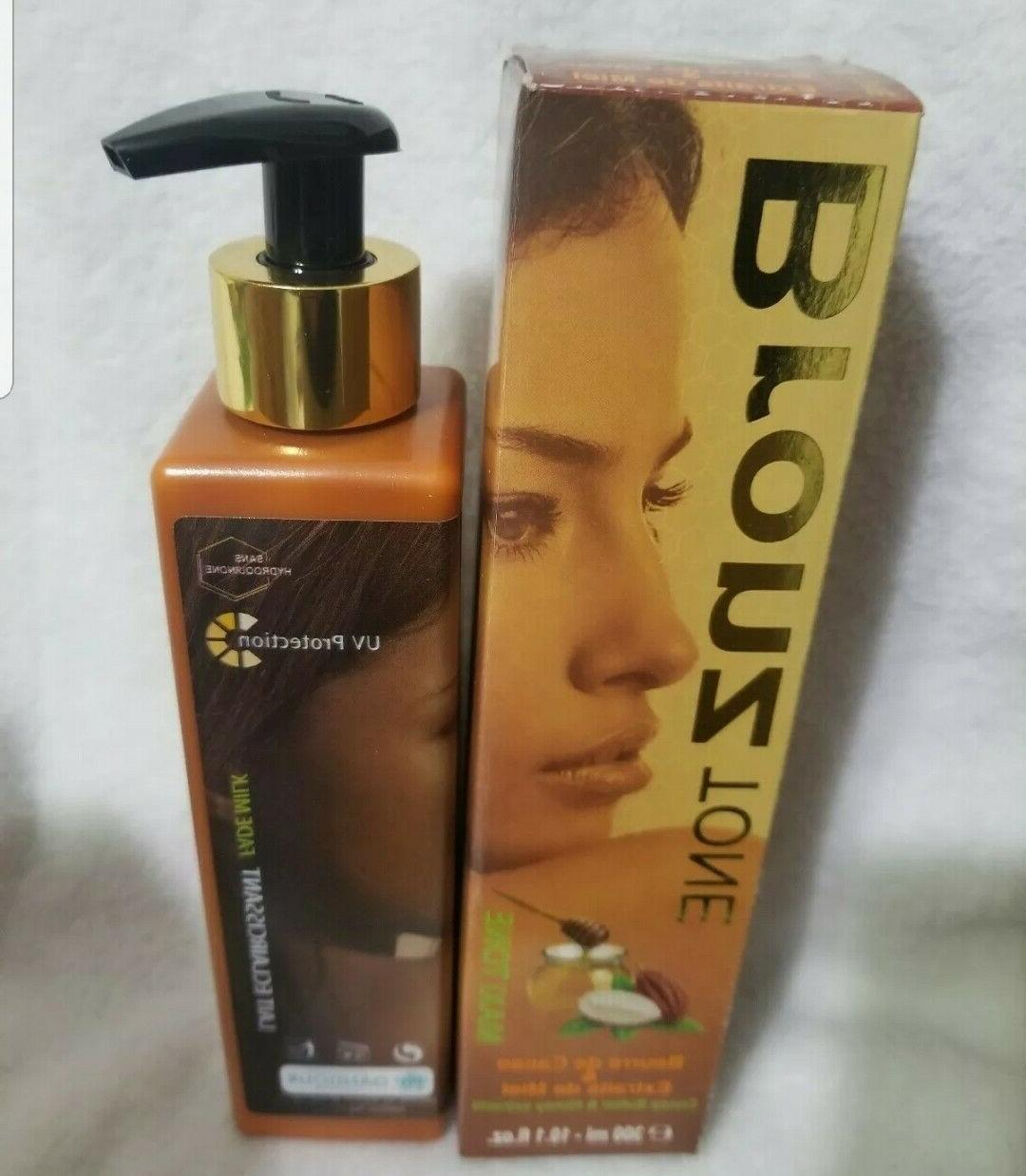 Bronz tone lotion spots fast action