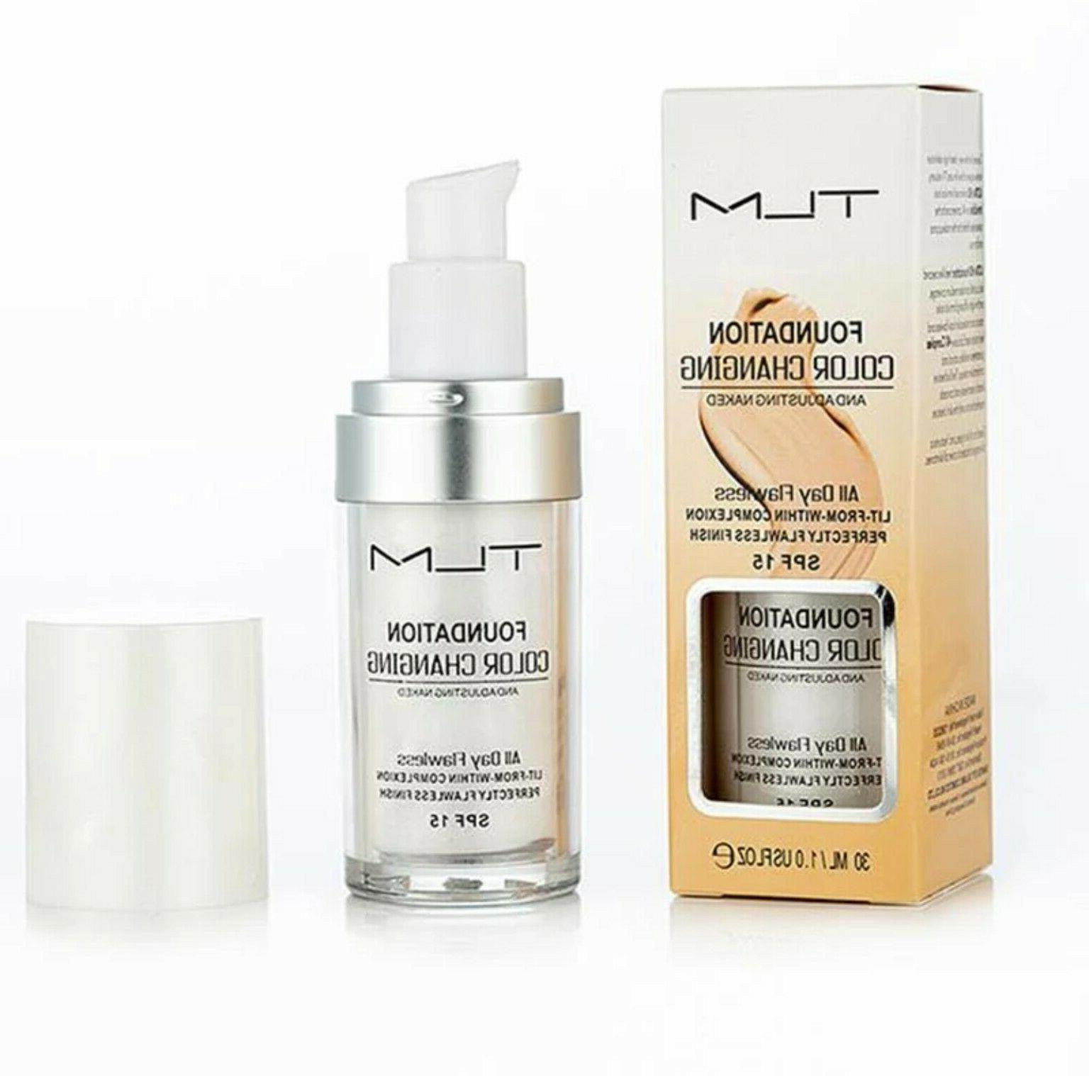 2PCS TLM Color Changing Foundation Magic Flawless