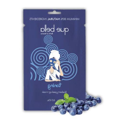 36 Toning Blueberry Off NWT! Masks!