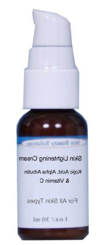 Pro Strength Skin Lightening Serum with Kojic Acid, Alpha-A