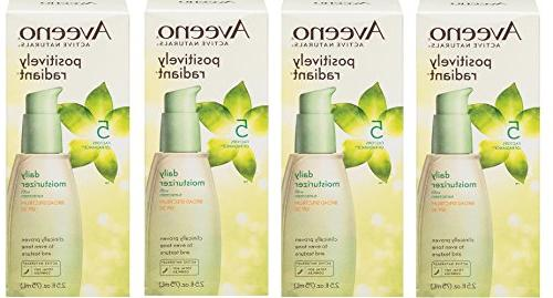 Aveeno Positively Radiant Daily Facial Moisturizer With Broa